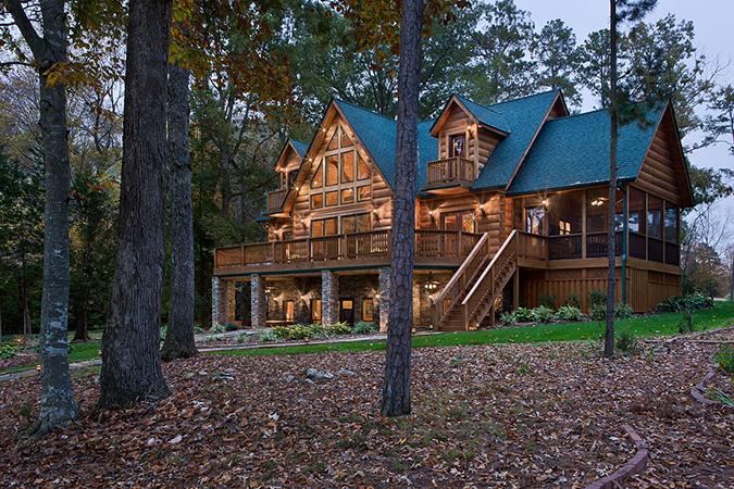 Log homes of west virginia for West virginia home builders